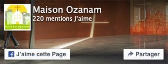 Page Facebook Maison Ozanam