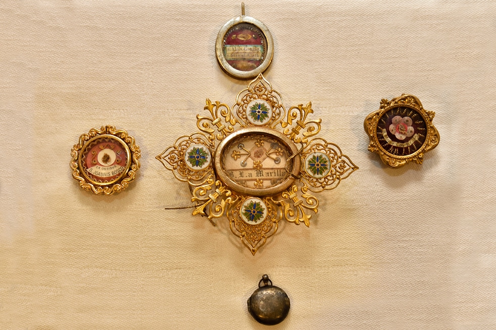 Reliquaire Saint Jean de Bosco