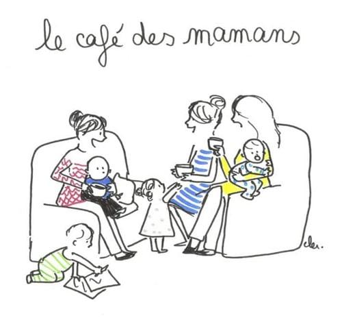 Rencontre et partage entre mamans