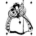 Carte à jouer Ozanam Boggio dame