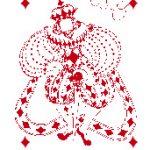 Carte à jouer Ozanam Boggio roi