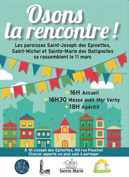 Flyer osons la rencontre