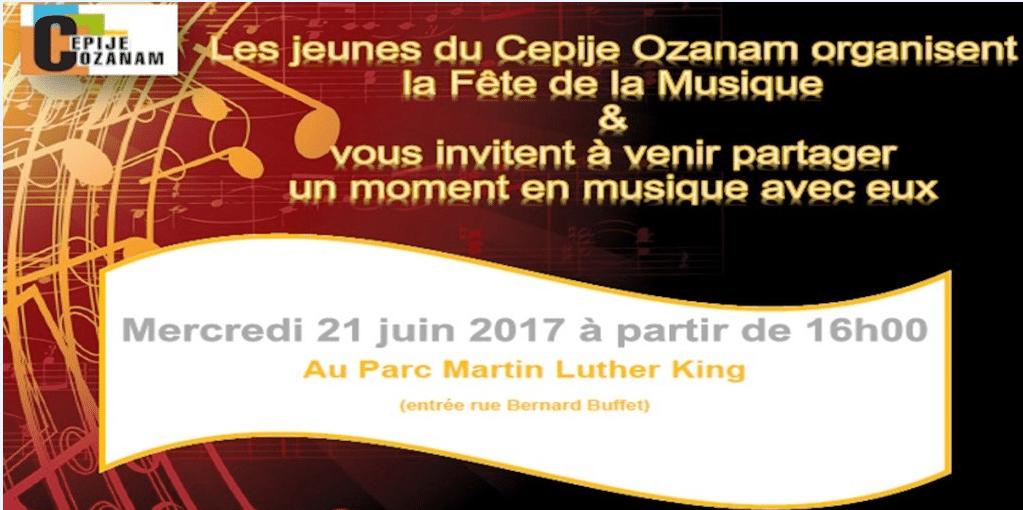 Invitation fête musique
