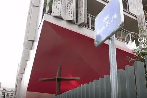 Maison Ozanam vue par les chaniers du cardinal
