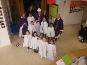 Prêtres et servants de messe