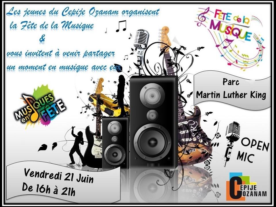 Affiche CEPIJE Fête de la Musique